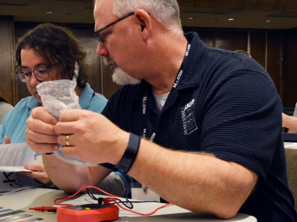 Nano tech educators collaborate at a workshop